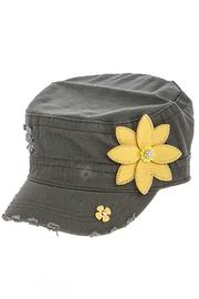 The Hatter Company Studded Military Cap - Product Mini Image