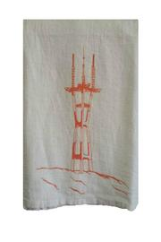 The Heated Sutro Tower Dishtowel - Front cropped