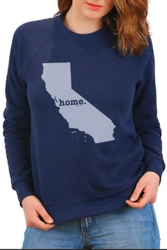 The Home T California Home Sweatshirt - Alternate List Image