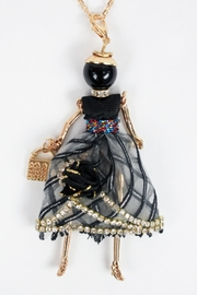 The House of Perna French Doll Necklace - Front cropped