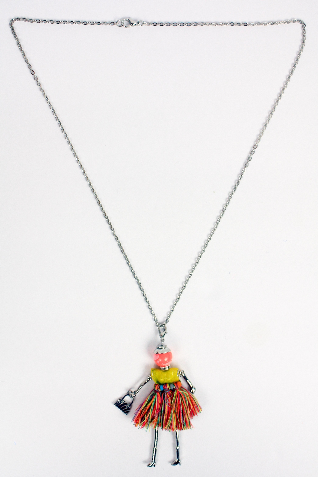 The House of Perna French Doll Necklace - Front Full Image