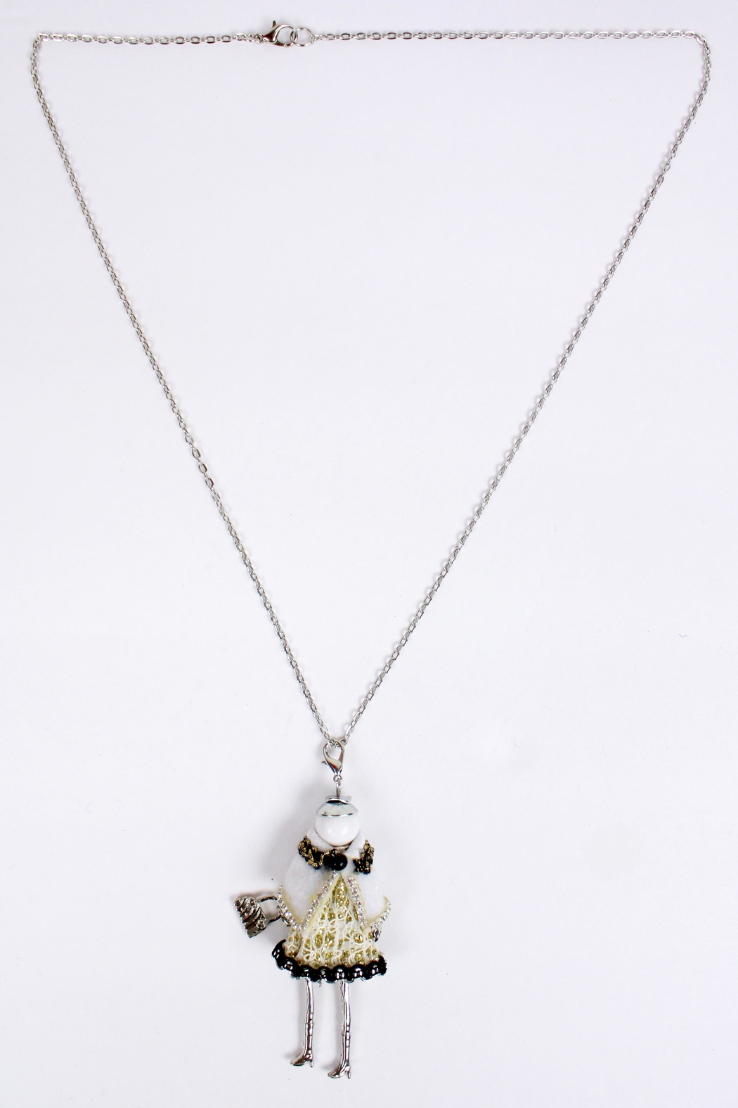 The House of Perna French Doll Necklace - Side Cropped Image