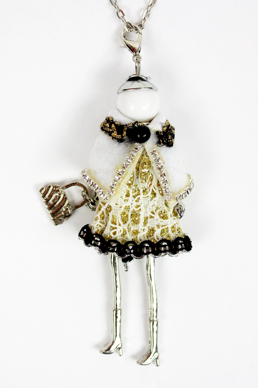 The House of Perna French Doll Necklace - Front Cropped Image