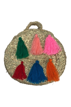 The House of Perna Mini Tassel Purse - Alternate List Image