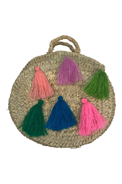 The House of Perna Mini Tassel Purse - Product List Image