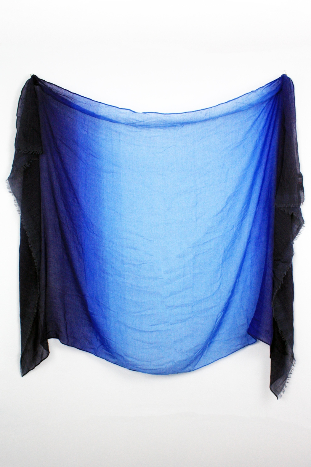 The House of Perna Ombre Scarf - Back Cropped Image