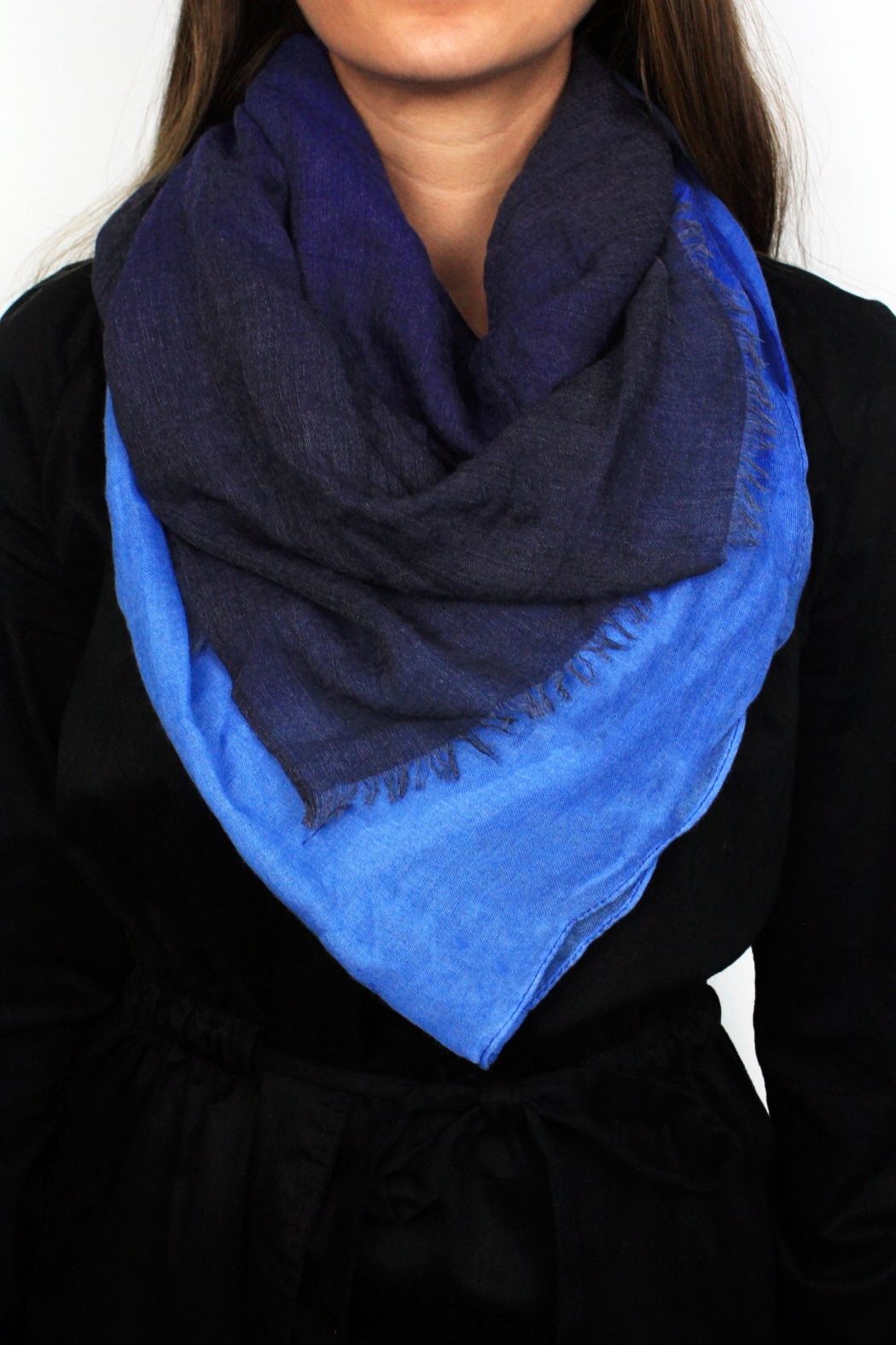 The House of Perna Ombre Scarf - Main Image