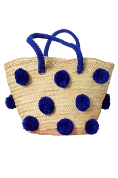 The House of Perna Patti Straw Tote - Product List Image
