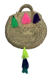 The House of Perna Tail Tassel Purse - Front cropped
