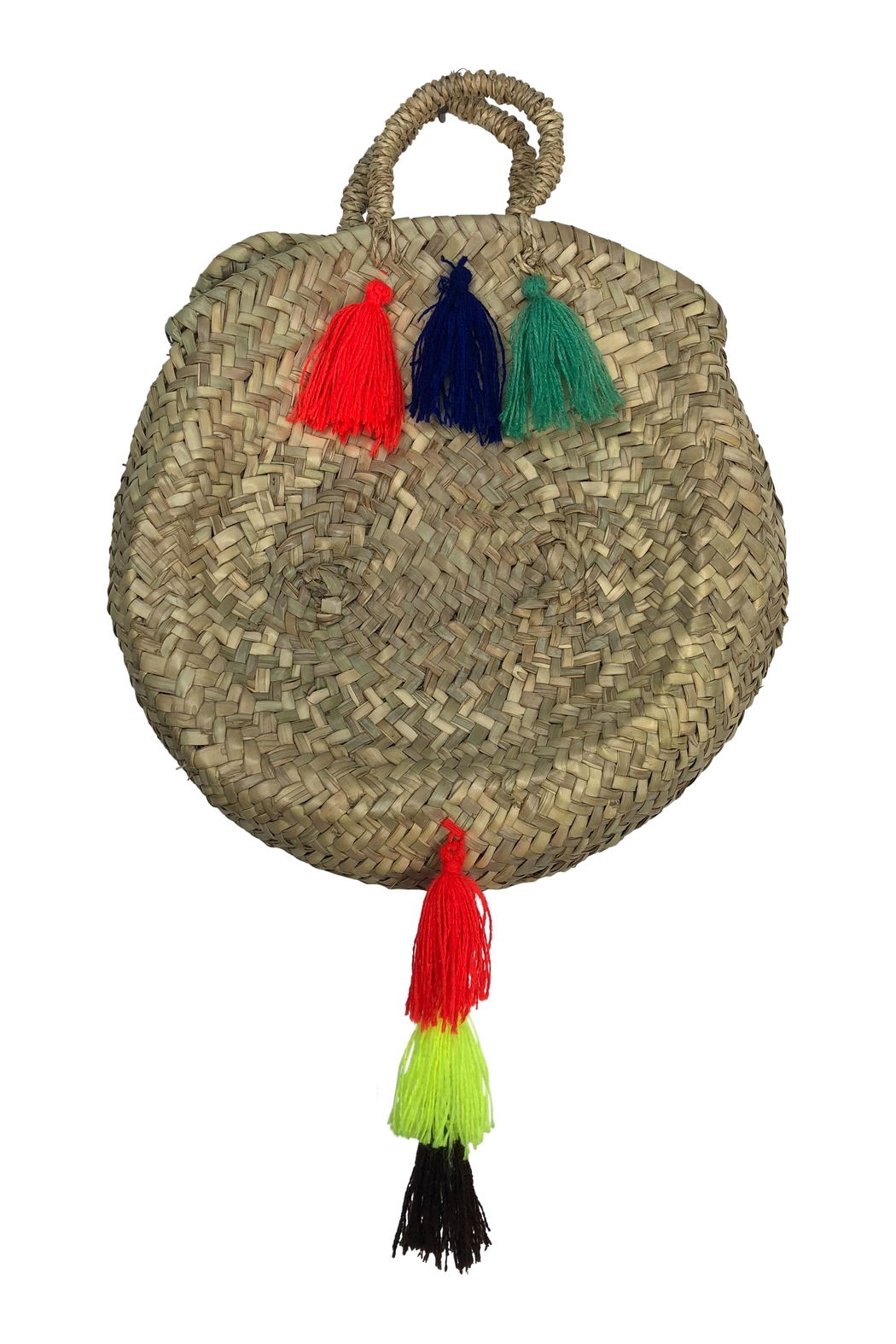 The House of Perna Tail Tassel Purse - Front Full Image