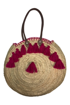 The House of Perna Tassel Circle Bag - Alternate List Image