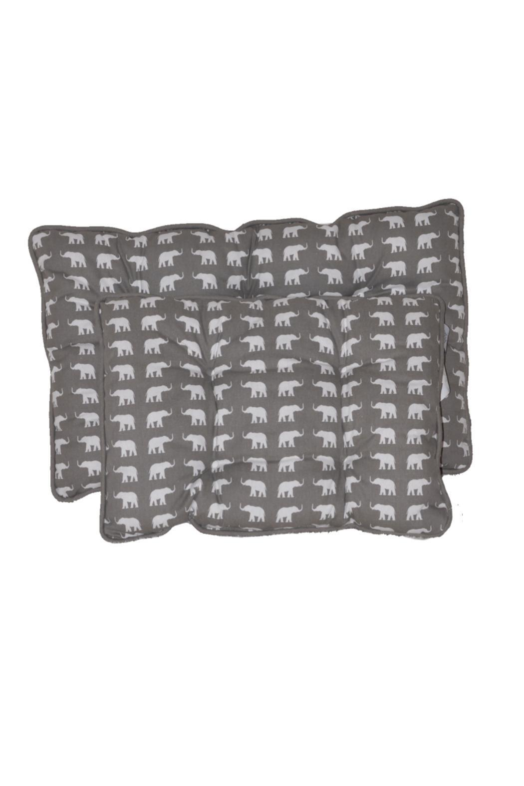 The Humane Society of the United States Medium Elephant-Print-Pet-Bed - Main Image