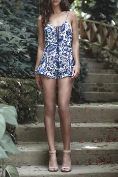 The JetSet Diaries Indigo Jungle Romper - Alternate List Image