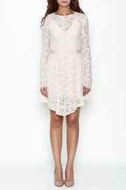 The JetSet Diaries Lace Mini Dress - Front full body