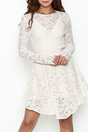 The JetSet Diaries Lace Mini Dress - Front cropped
