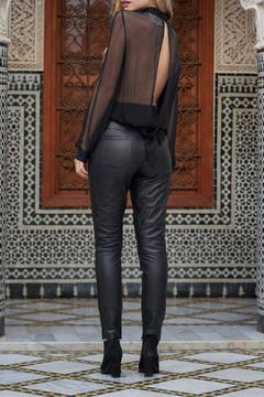 The JetSet Diaries Sheer Black Blouse - Alternate List Image