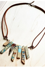 The Jewelry Junkie Aqua Terra Cord Necklace - Product Mini Image