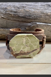 The Jewelry Junkie Brown Ocean Agate Cuff - Product Mini Image