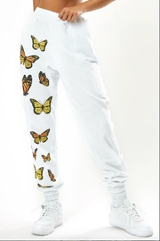 The Kript Monarch Butterfly Sweatpants - Product Mini Image