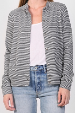 Shoptiques Product: Striped Cardigan Sweater