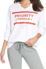 The Laundry Room Priority Female Sweatshirt - Front cropped