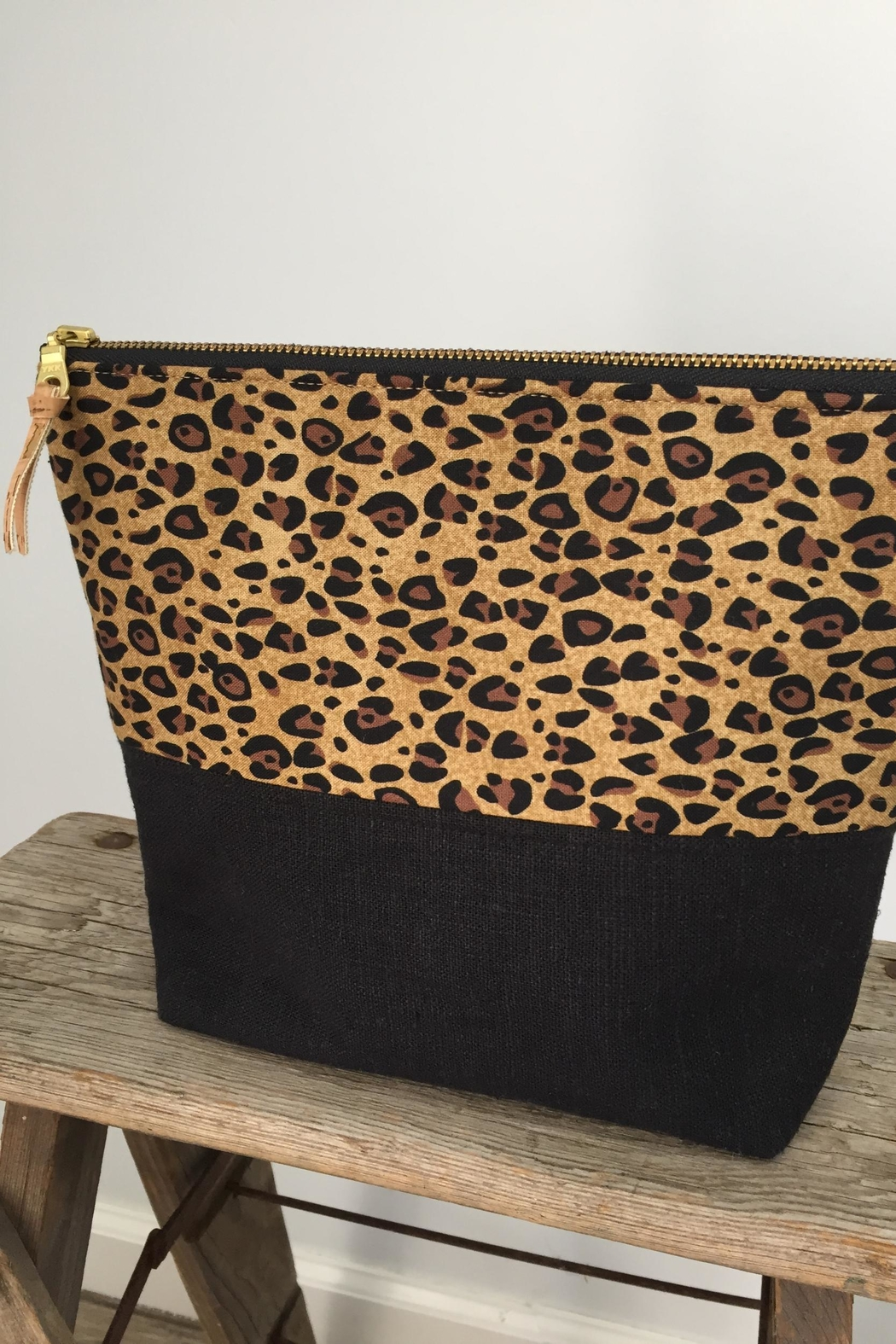 The Lovet Shop Cheetah Clutch - Front Full Image