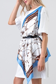 the moon Scarf Wrap Dress - Product Mini Image