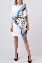 the moon Scarf Wrap Dress - Other
