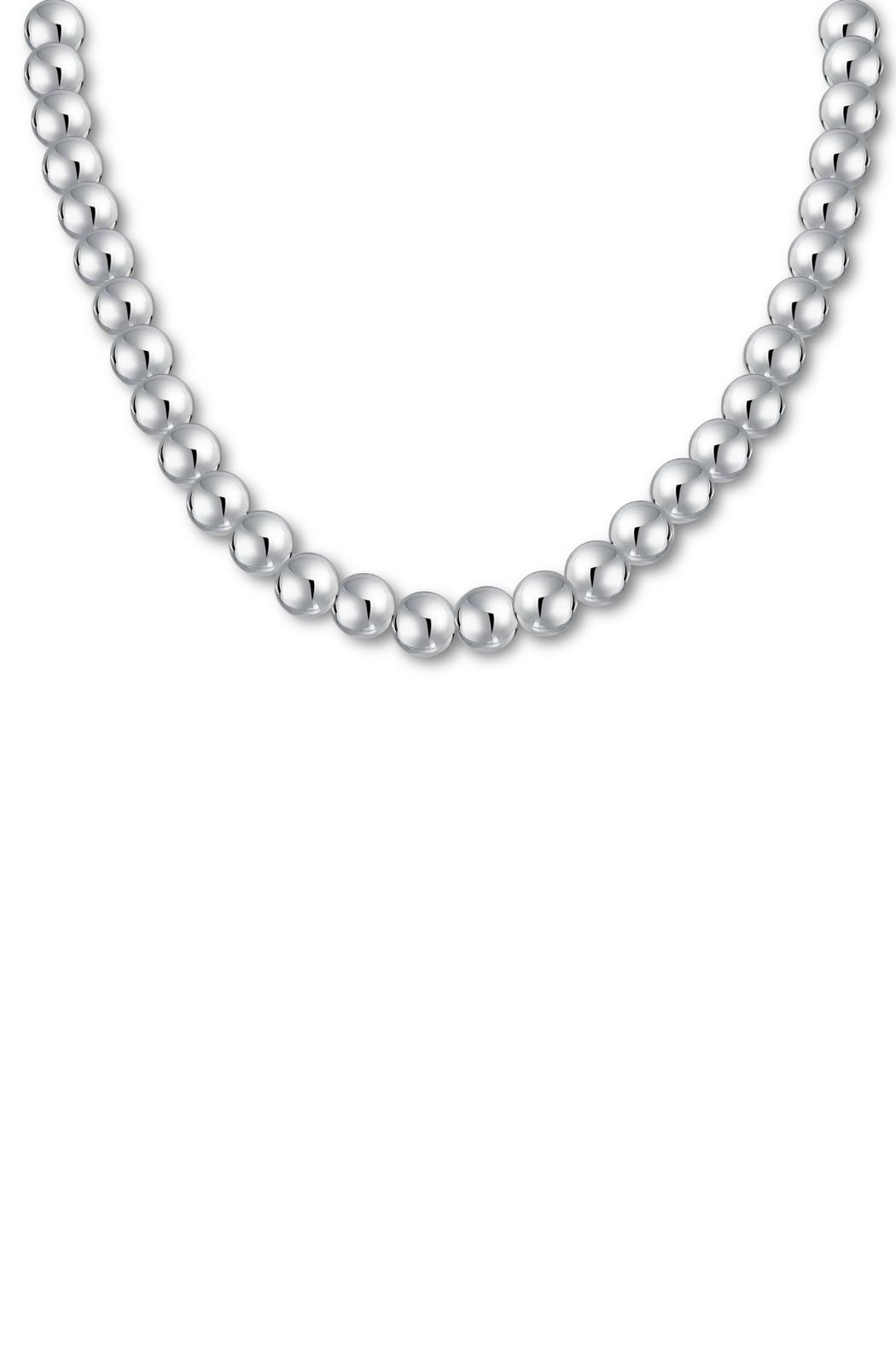 The Nava Family 10mm Ball Necklace - Front Cropped Image