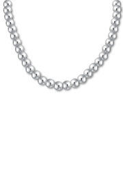 The Nava Family 10mm Ball Necklace - Front cropped
