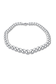 The Nava Family 12mm Ball Necklace - Back cropped