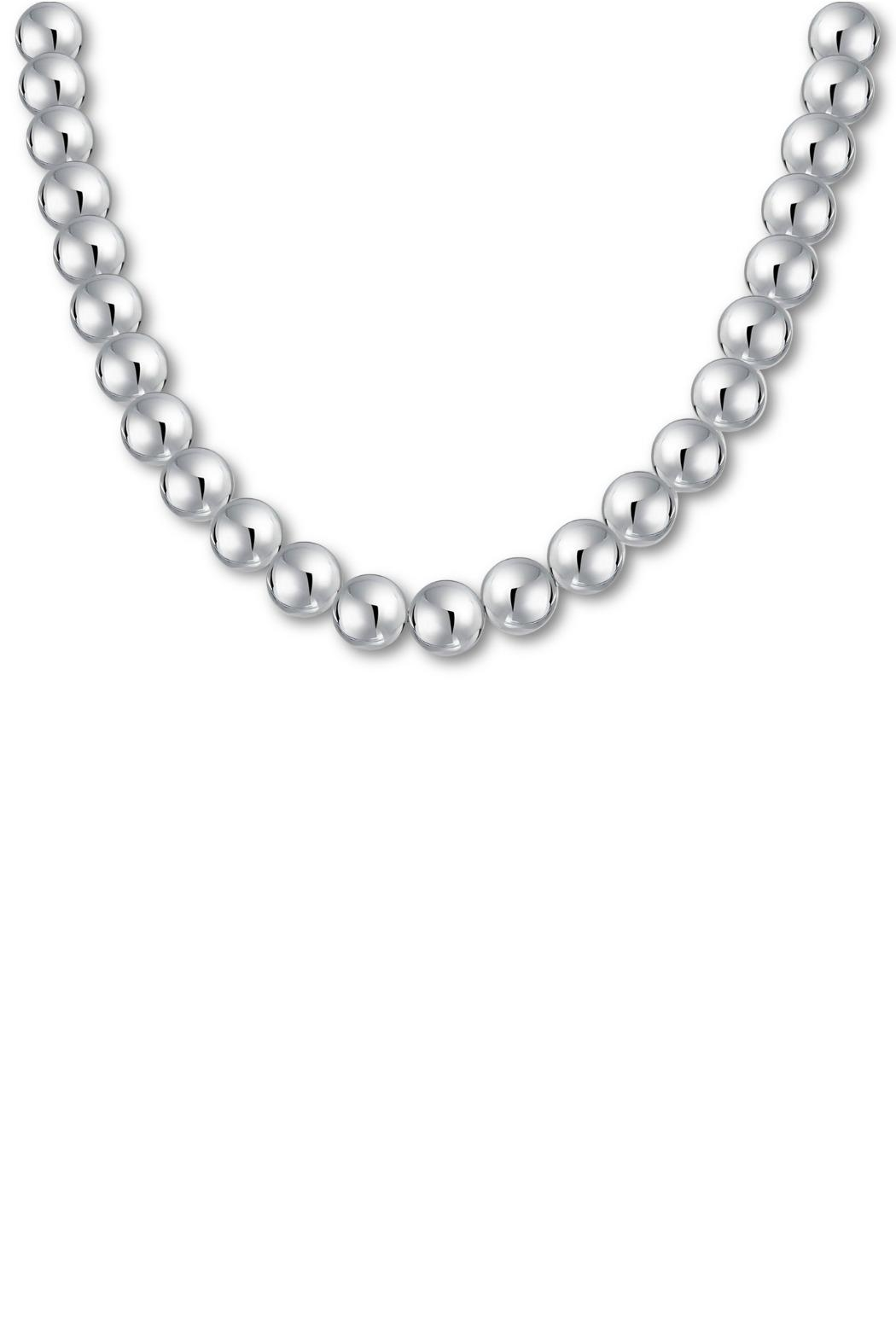 The Nava Family 12mm Ball Necklace - Front Cropped Image