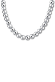 The Nava Family 12mm Ball Necklace - Front cropped