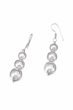 Shoptiques Product: Graduated Ball Earrings