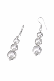 The Nava Family Graduated Ball Earrings - Product Mini Image