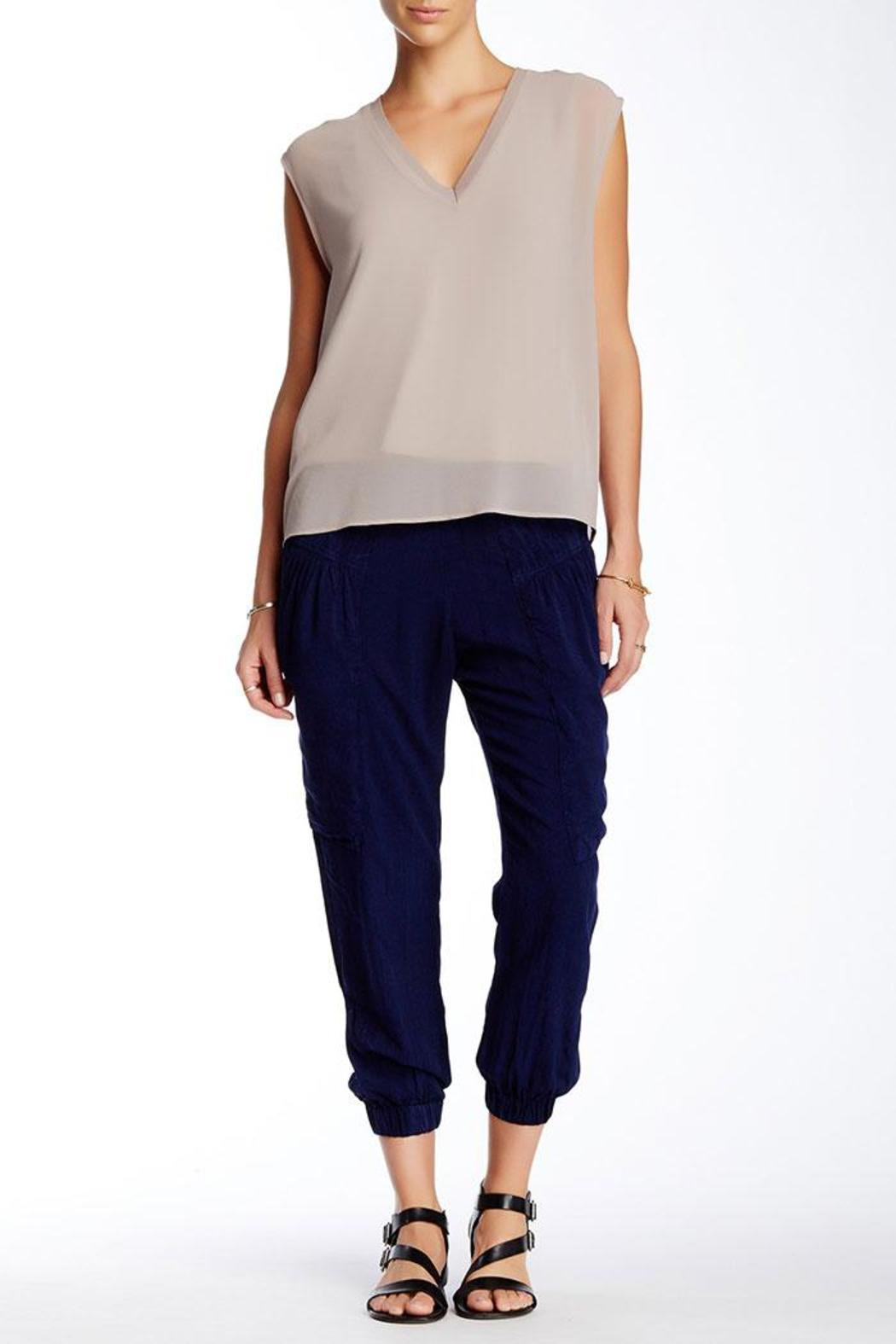 The O'Dells Indigo Slouch Pants - Front Cropped Image