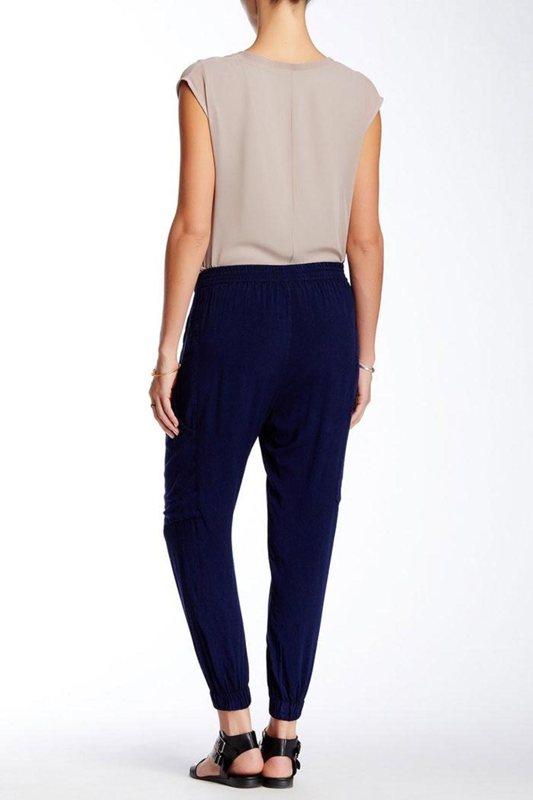 The O'Dells Indigo Slouch Pants - Front Full Image