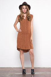 The Odells Warm Whiskey Dress - Product Mini Image