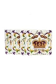 The Parish Line Mardi Gras Coasters - Product Mini Image
