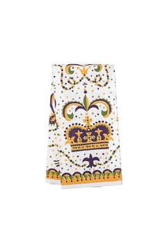 The Parish Line Mardi-Gras Crown Towel - Alternate List Image