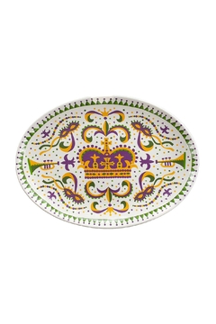 The Parish Line Mardi Gras Platter - Alternate List Image