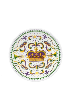 The Parish Line Mardi-Gras Small Plate - Alternate List Image
