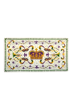 The Parish Line Mardi-Gras Small Platter - Alternate List Image