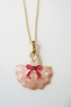 The Piggy Story Tutu Dress Necklace - Product List Image