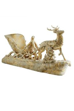 Shoptiques Product: Sparkled Reindeer Sleigh