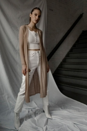 THE RANGE NYC Shadow Linen Duster - Product Mini Image