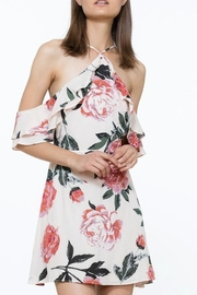 The Room Floral Dress - Front cropped