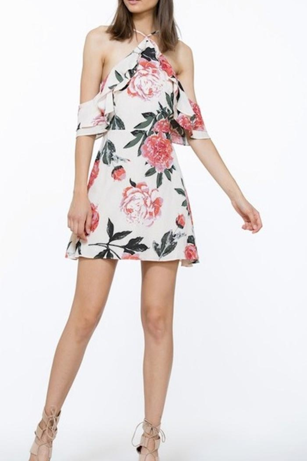 The Room Floral Dress - Front Full Image