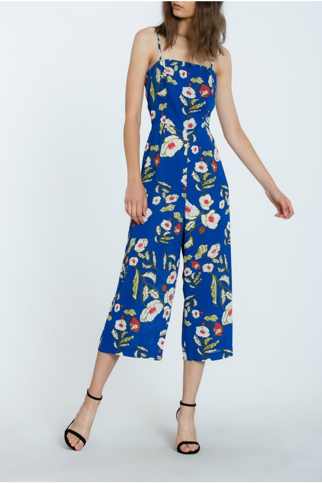 The Room Floral Long Romper - Front Full Image