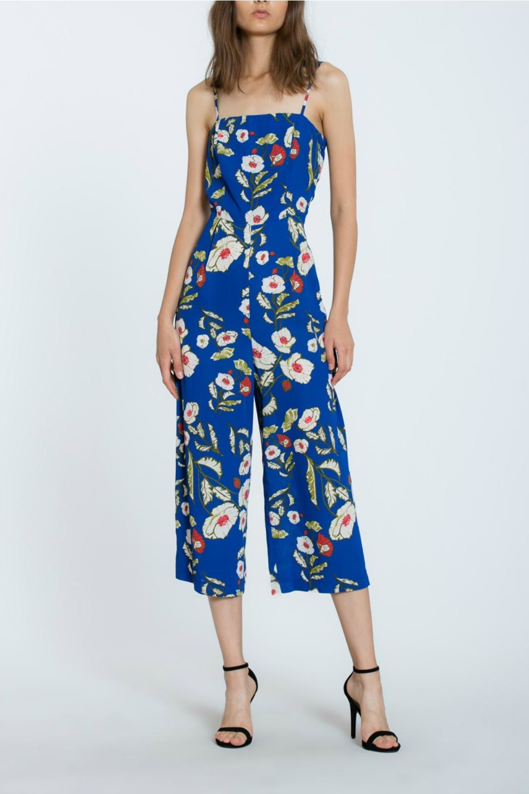 The Room Floral Long Romper - Main Image